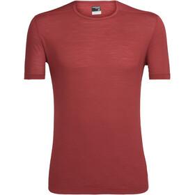 Icebreaker Zeal Shortsleeve Shirt Men red